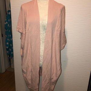 Cute, pink jacket- short sleeve.